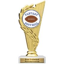 Rising Wreath Fantasy Football Insert Trophy