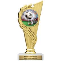 Rising Wreath Soccer Insert Trophy
