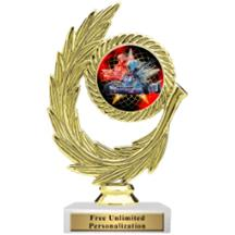 Honor Wreath Go-Kart Insert Trophy