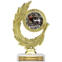 Honor Wreath Inline Racing Insert Trophy
