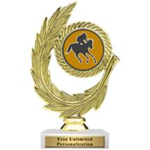 Honor Wreath Jockey Insert Trophy