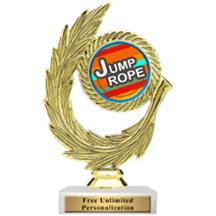 Honor Wreath Jump Rope Insert Trophy