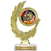 Honor Wreath Motocross Insert Trophy