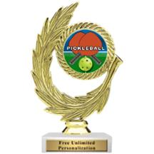 Honor Wreath Pickleball Insert Trophy