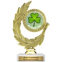 Honor Wreath St. Patrick's Day Insert Trophy