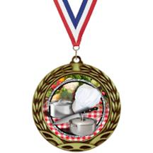 Antique Insert Cooking Medal
