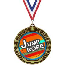 Antique Insert Jump Rope Medal