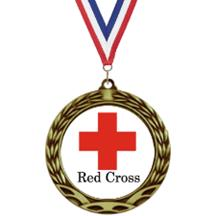 Antique Insert Red Cross Medal