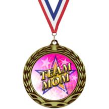 Antique Insert Team Mom Medal