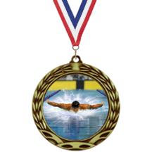 Antique Insert Water Polo Medal