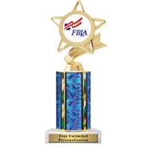 Ultra Wide Column FBLA Insert Trophy