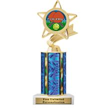 Ultra Wide Column Pickleball Insert Trophy