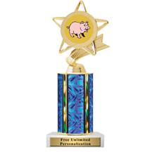 Ultra Wide Column Pig Insert Trophy