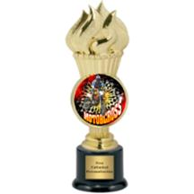 Torch Motorcross Insert Trophy