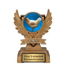 Victory Wing Chicken Insert Trophy