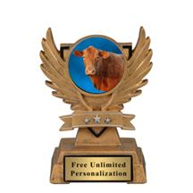Victory Wing Cow Insert Trophy