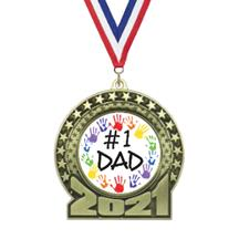 2019 Father's Day Insert Medal
