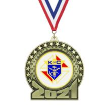 2021 Knights of Columbus Insert Medal