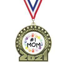 2019 Mother's Day Insert Medal