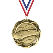 Fusion Pinewood Derby Medal