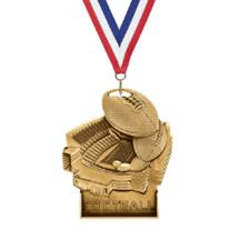 Stand Up Football Medal