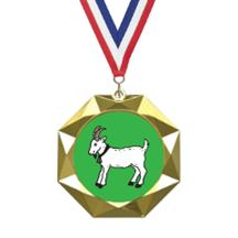 Octoblast Animal Insert Medal