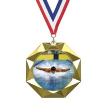 Octoblast Swimming Insert Medal