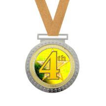 Olympian 4th Place Insert Medal