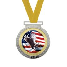 Olympian Eagle Insert Medal