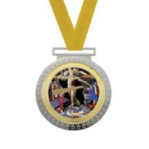 Olympian Gymnastics Insert Medal