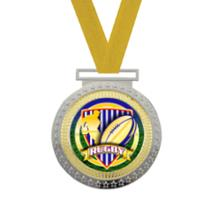 Olympian Rugby Insert Medal