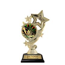 Star Ribbon Insert Darts Trophy