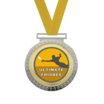 Olympian Ultimate Frisbee Insert Medal