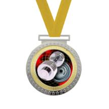 Olympian Weightlifting Insert Medal