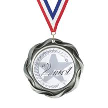 Fusion 2nd Place Insert Medal