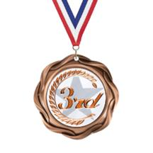Fusion 3rd Place Insert Medal