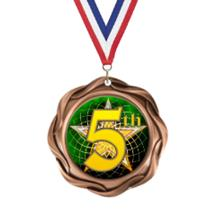 Fusion 5th Place Insert Medal