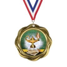 Fusion Academic Insert Medal