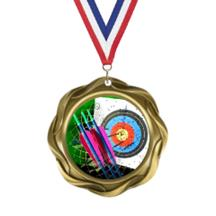 Fusion Archery Insert Medal