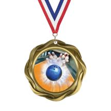 Fusion Bowling Insert Medal
