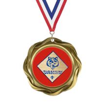 Fusion Boy Scouts Insert Medal