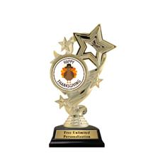 Star Ribbon Insert Thanksgiving Trophy