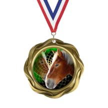 Fusion Horse Insert Medal