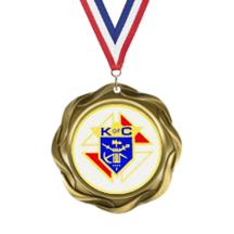 Fusion Knights of Columbus Insert Medal