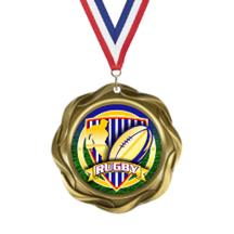 Fusion Rugby Insert Medal