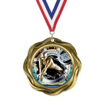 Fusion Swimming Insert Medal