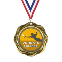 Fusion Ultimate Frisbee Insert Medal