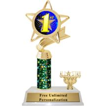 Star Column Insert Trophy with Trim