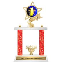 Twister Double Column Insert Trophy