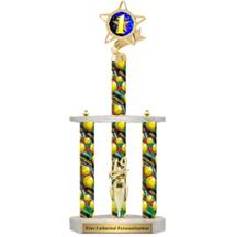 Action Sport Giant Three Post Insert Trophy